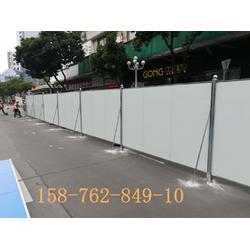 现货建筑工地安全施工彩钢夹芯板围挡 道路隔离围挡 支持定做图片