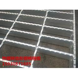 热镀锌格栅盖板 防滑锯齿钢格栅 停车场专用钢格板栅图片