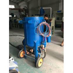 湿式/干式移动喷砂机/环璃木材喷砂机图片