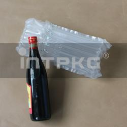 图红酒酒类玻璃瓶制缓冲气柱袋图片