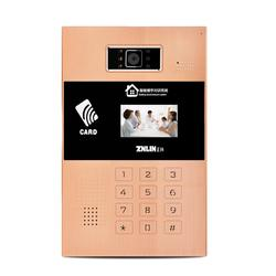 可视对讲门铃 楼宇门禁对讲系统可带播放功能带人脸识别带指纹解锁图片