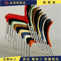 251.2mm磨砂氧化 桌腿 椅腿 家具 椅脚铝管图片