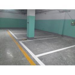 承接停车场车位划线,地下停车位标线,地下车库车位规划施工图片