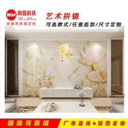 玻璃背景墻風格,玻璃背景墻,網盟信息玻璃墻公司圖片