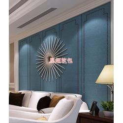 硬包床头背景墙、菏泽硬包、凰超家具有限公司(查看)图片