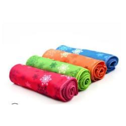 来图定制冷感印花冰巾 速干降温运动毛巾 运动冰凉巾图片