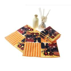 厂家直销高清图案全棉数码印花方巾 应援物礼赠品毛巾订制图片
