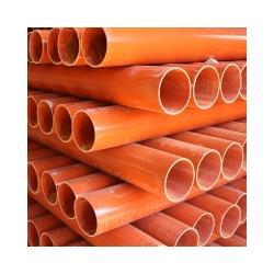 橘红色cpvc电力管厂家现货销售DN50-250规格型号图片
