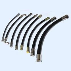 云南 高压钢丝编制胶管 大口径橡胶管
