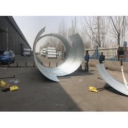 金属波纹管涵生产厂家-贵州拼装金属波纹管图片