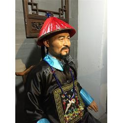 蜡像 警示教育基地蜡像人 手工泥雕 美食街蜡像人优惠图片