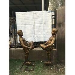 火锅人物铜人像 玻璃钢雕塑厂家 商业街雕像优惠图片