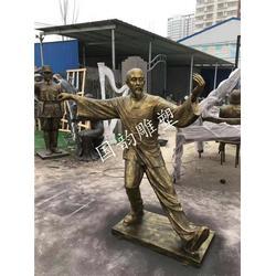 火锅人物铜人像 农耕人物雕塑 仿真人雕塑厂家直销图片