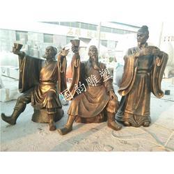 火锅人物铜人像 农耕人物雕塑 宣传教育雕塑优惠图片