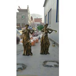 火锅人物铜人像 商业街雕塑 仿真人雕塑厂家直销图片