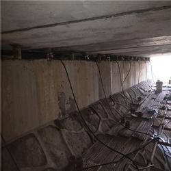 桥梁垫石增高更换支座施工图片
