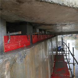 更换桥梁支座垫石维修施工图片