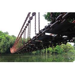 水上吊桥厂家-钢索吊桥厂家图片