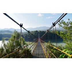 丛林吊桥造价-木吊桥造价多少钱-普通吊桥造价多少钱图片