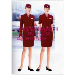 秋冬季空姐服套裝-廈航空姐裝-南航機場空姐制服定做圖片