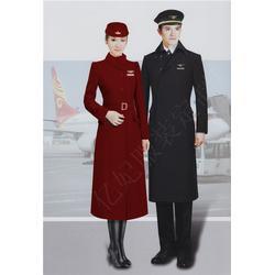 空姐毛呢大衣18年新款-東航空姐呢子大衣-妮子外套-羊毛大衣定制圖片