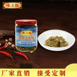 河南魚頭醬椒品牌-長沙魚頭醬椒-辣之源