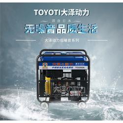 250A小型柴油发电电焊机图片