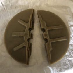 粉体管链式输送机刮板A鸿丞定粉体管链式输送机刮板厂家现货图片