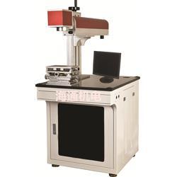 生产光纤激光打标机厂家  标牌,铭牌,二维码光纤激光打标机图片