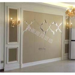 选择整体背景墙板装修,简化安装入住快图片