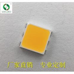 暖白5054贴片 0.5w led灯珠 发光二极管 超亮5054暖白光图片