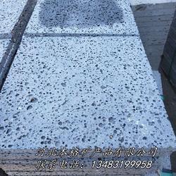 本格厂家直销不规则纯天然火山石板材 规则火山石板材图片