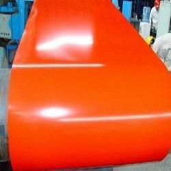 上海宝钢绯红一米宽彩涂卷 基板可选图片