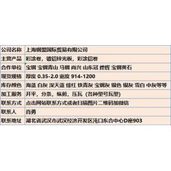 茂名宝武青山840彩钢板 钢盟诚信代理图片