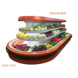 广州果蔬风幕柜-比斯特冷冻柜品质保障-超市果蔬风幕柜定制图片