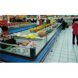 立式超市冷冻柜工程|超市冷冻柜|深圳比斯特工厂直供图片