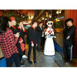金亮德機器人公司餐廳送餐機器人服務員圖片