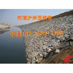 挡墙基础用石笼网箱  堤防工程石笼网  防泥石流石笼护垫图片