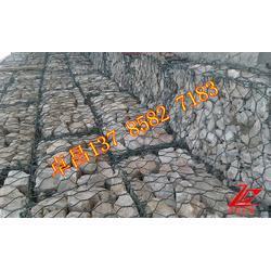 江河防洪护坡格宾石笼、长江防洪护岸镀锌格宾网、江河护底护脚高尔凡格宾网笼图片