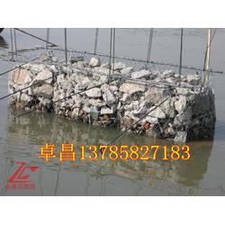 护坡固堤铅丝石笼 河道生态修复格宾石笼 泥石流治理格宾网图片