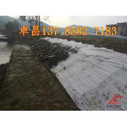 泄洪坝导流坝格宾网,堤岸缓坡抢险铅丝石笼   雷诺护垫图片