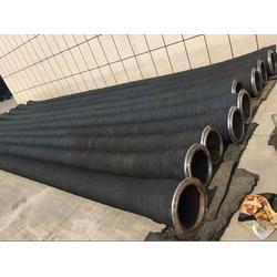 惠州-大口径排吸泥法兰胶管-6寸耐油橡胶管图片