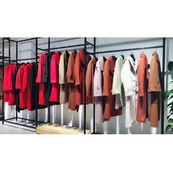 当季新款双面羊绒大衣艾薇萱品牌折扣品质保证图片
