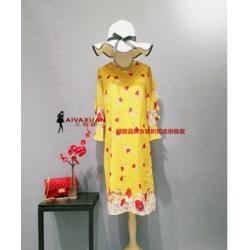 杭派一二线品牌女装尾货到艾薇萱一手货源超低价图片