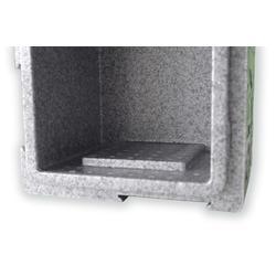 加工廠家定制EPP保溫箱 物流運輸生鮮冷藏箱 車載無電冰箱