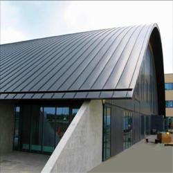 65-430型厚度1.2mm直立锁边铝镁锰屋面板适用沿海地区图片
