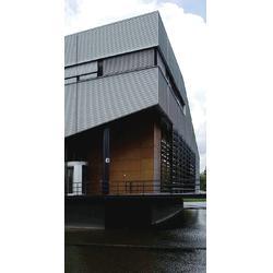 铝镁锰无钉式圆波板 311型 厚度0.8mm 适用4S店厂房墙面图片