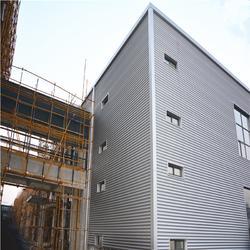 铝镁锰无钉式圆波板 311型 厚度0.7mm 适用4S店厂房墙面图片