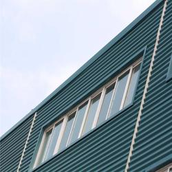 铝镁锰无钉式圆波板 311型 厚度1.2mm 适用4S店厂房墙面图片