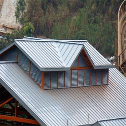 名宿屋面板 矮立边彩钢屋面板 25-330 厚度0.7mm图片